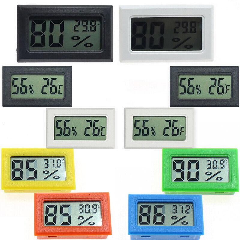 Digital Temperature Humidity Meter LCD Hygrometer Thermometer UK