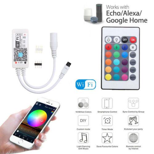 WiFi Voice Control LED Kitchen Cabinet Lighting Kit Light Closet Bulb fr Alexa