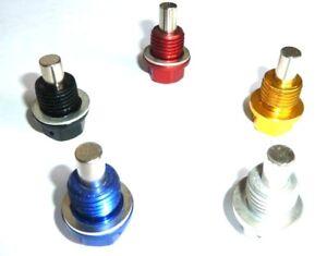 Honda-CBR1100XX-Blackbird-1997-10-magnetisch-Olablassschraube-M14-x-1-5-gebohrt