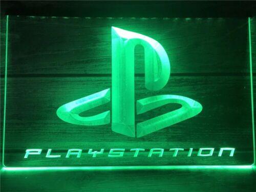 NEW Playstation DEL Lumière Néon Signer Salle De Jeux PS1 PS2 PS3 PS4 PS5 cadeau pour gamer