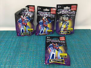 Transformers• Limited Edition•Mini Figures•LOT OF 4 • Hasbro/ Prexio•New SEALED