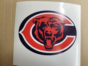 Chicago Bears cornhole board or vehicle decal(s)
