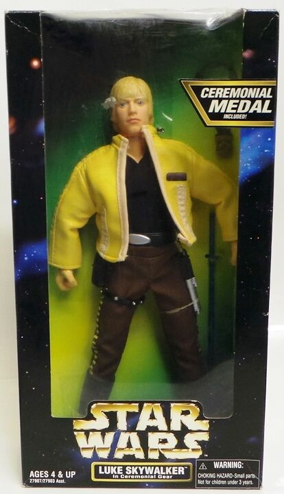 STAR WARS A NEW HOPE   LUKE SKYWALKER BOXED 12  ACTION FIGURE BY KENNER
