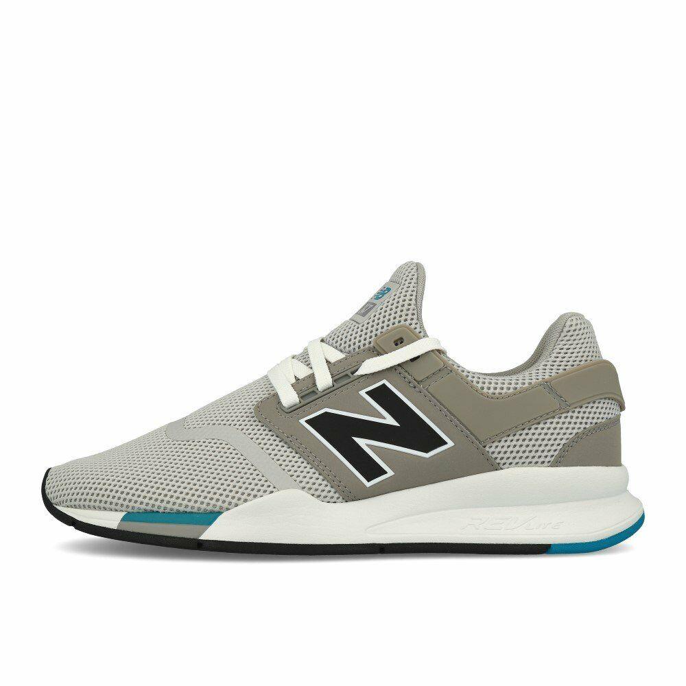 New Balance MS 247 FC Rain Cloud Schuhe Turnschuhe Grau Weiß