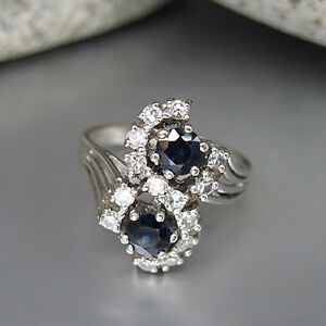 Ring-mit-ca-0-60ct-Brillant-W-si-und-ca-0-60ct-Saphir-in-585-14K-Weissgold
