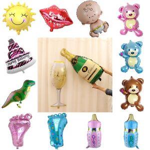 Ballon-Champagner-Flasche-Glas-Sonne-Lippen-Folie-Ballons-Party-Happy-Birth-D6L5