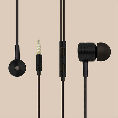 3.5mm In-Ear With Microphone Bass Stereo Earphones Headphones Headset Earbuds FT