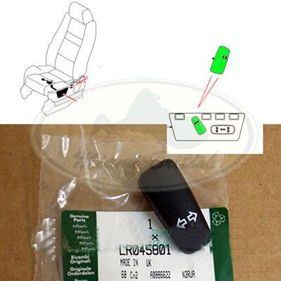 Land Rover Range Rover Sport LR2 LR3 Recline Seat Button Switch LR045801 Genuine