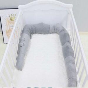 Baby-Infant-Crocodile-Pillow-Bumper-Newborn-Crib-Protector-Around-Guard-185cm