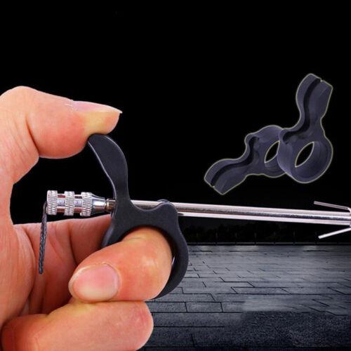 Resin Slingshot Shooting Fish Finger Fishing Dart  Ring to Protect Finger T SE