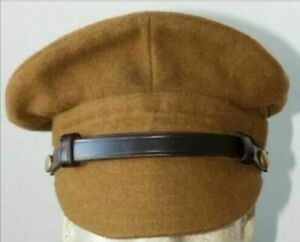 Replica-BRITISH-WW1-ARMY-TRENCH-Hat-Cap-Hand-Made-All-Sizes
