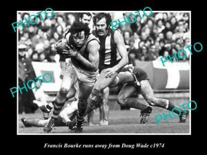 OLD-LARGE-HISTORICAL-PHOTO-OF-RICHMOND-FC-GREAT-FRANCIS-BOURKE-c1974