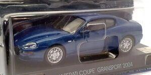 ALTAYA 1/43 SCALA AL6221K-maserati coupe gransport 2004-Met Blu