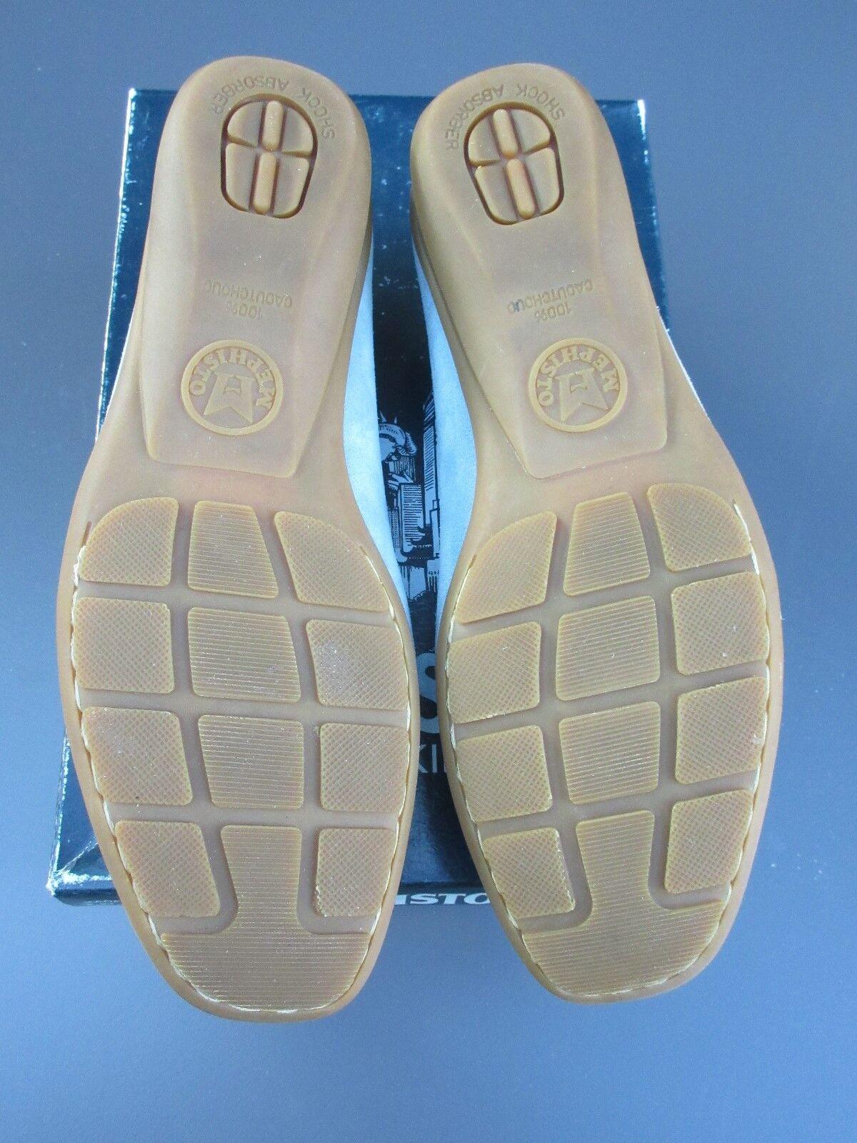 MEPHISTO Cool Air Loafers  Neida Sky Sky Sky bluee Velsport   Suede Slip-on shoes Sz 6 7fcec5