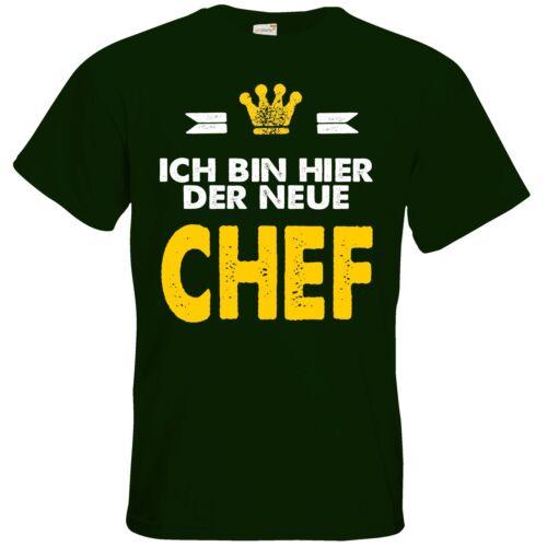 T-Shirt RAHMENLOS® Geschenke Baby Ich bin der neue Chef.. getshirts