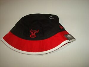 4e13a931c744a CHICAGO BULLS NEW ERA GOLF SZ L RARE SCRIPT hat cap BUCKET FLOPPY ...