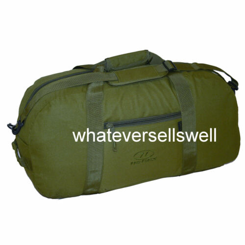 LARGE 65 ltr CARGO BAG holdall for gym sports travel OLIVE GREEN