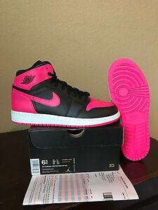 DS New Nike Air Jordan 1 Retro Serena Williams Pink 873863-609 Sz ... 4357e7a77