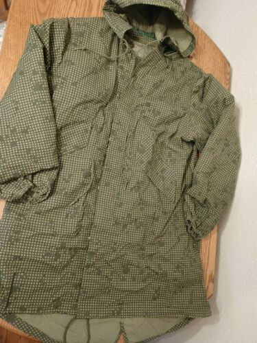 1984 Military Army Parka Night Green Camouflage Vi