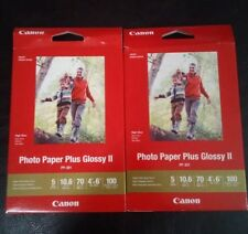 "CanonInk Photo Paper Plus Glossy II 4"" X 6"" 100 Sheets 1432C006"
