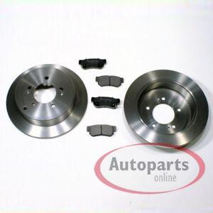 Kia-Carens-4-IV-Bremsscheiben-Bremsen-Bremsbelaege-fuer-hinten-die-Hinterachse