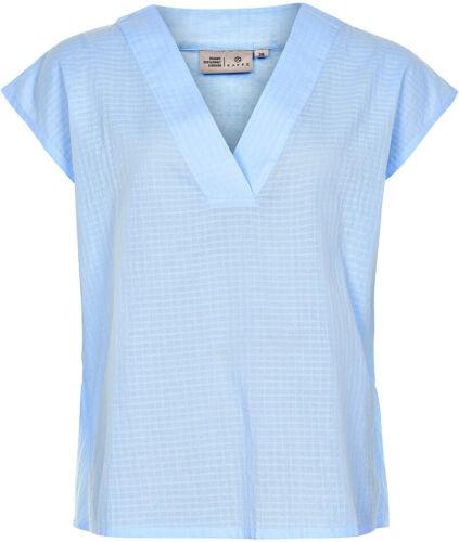 10503152 Bluse // PLACID BLUE //  UVP 49,95 €   38 KAFFE L M