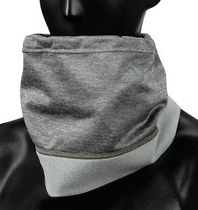 ce932fe95cf Image is loading Adidas-Climawarm-Fleece-Neck-Warmer-Running-Gray-Face-