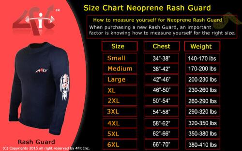 4Fit Heavy Duty Neoprene Sweat Shirt Rash Guard Sauna suit Weight Loss Men Top