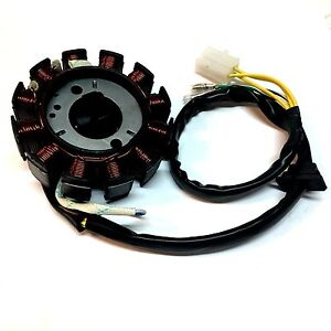 Details about 12 COIL DIRECT CURRENT STATOR 150CC GY6 SCOOTER OEM ZNEN  MOPED CHINESE CLONE