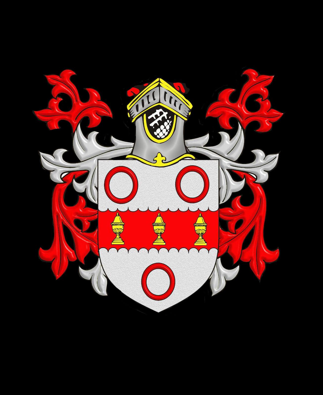 Draper Inghilterra Inghilterra Inghilterra STEMMA DI FAMIGLIA cognome STEMMA Gemelli custodia personalizzata 77d155