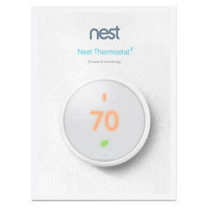 Nest-Thermostat-E-White-Programmable-Brand-New-Factory-Sealed-T4000ES