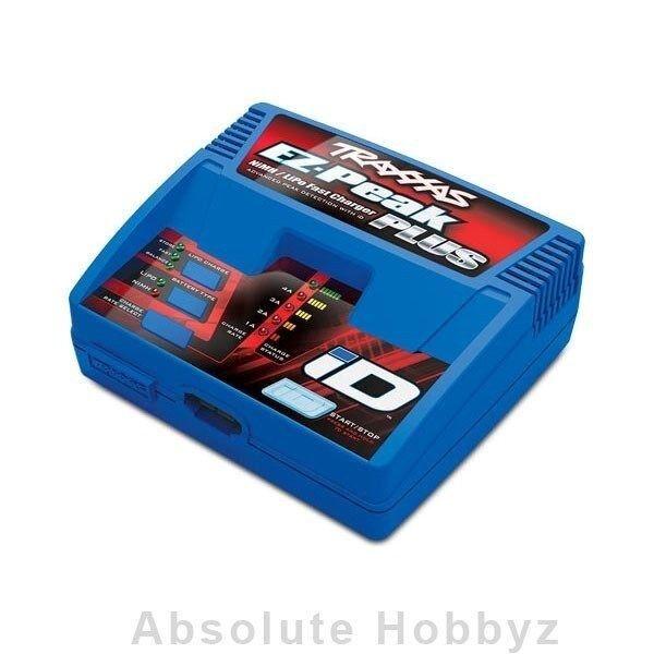 Traxxas EZ-Peak Plus Multi-Chemistry Battery Charger w/Auto Battery iD  3S/4A/80