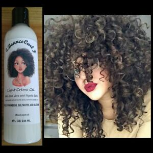 I-Bounce-Curl-z-Light-Creme-Styling-Gel-with-Aloe-Women-curly-Hair-8oz-NEW