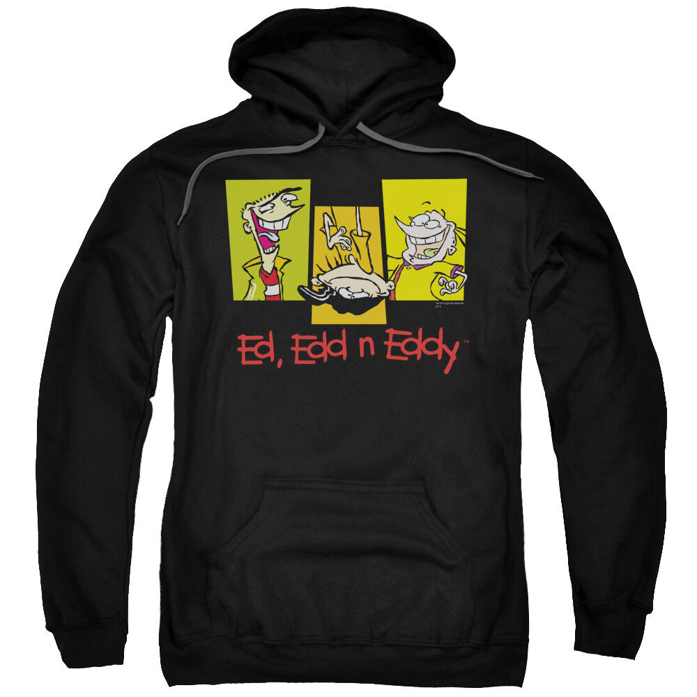 Ed, Edd n Eddie Cartoon 3 ED'S Picture Licensed Sweatshirt Hoodie