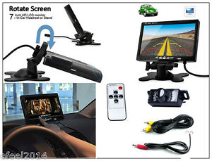 Car Rearview Monitor Rearview Backup Camera System 7 Quot Tft