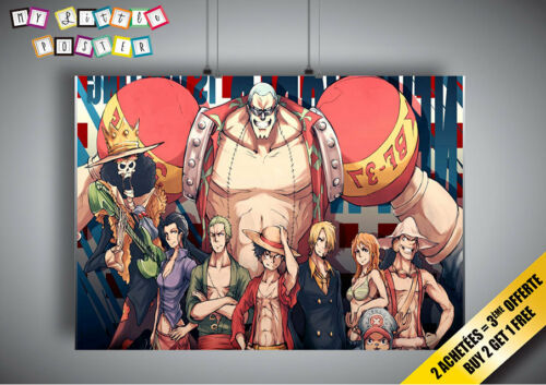 Poster One Piece Manga ANIME Wall Art