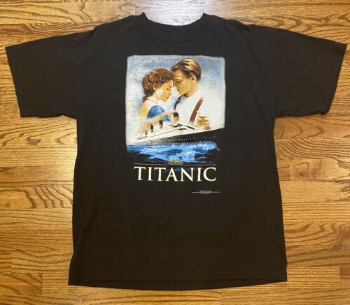 VTG 1998 Titanic Jack Rose Promo T Shirt XL