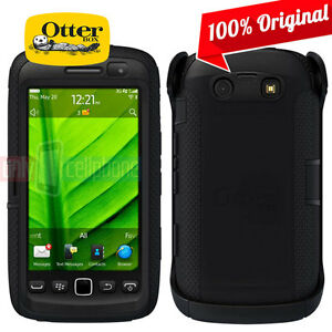 NEW-OtterBox-BlackBerry-Torch-9860-9850-Defender-Case-Black-w-Holster-Retail-Pak