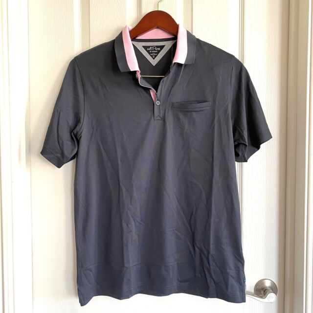 Adipure by adidas Golf Polo Shirt Black Men's Size Large DT9745