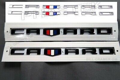 2016-2019 Chevrolet Camaro 23273557 New OEM Fender Badges Nameplates