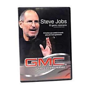 23003639219 Steve Jobs (Dvd) (El genio Visionario) 7502220578657   eBay
