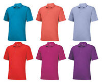 Adidas Golf Puremotion Texture Polo (msrp $60) Over 60% Off