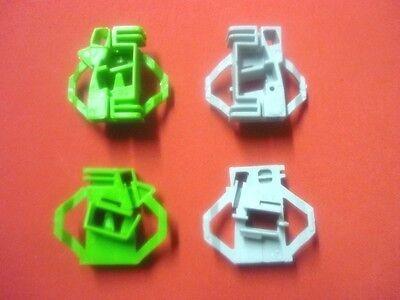 Brioso Vw Polo Kit Riparazione Regolatore Finestrino Clips/anteriore Destro- Completa In Specifiche
