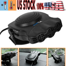 Car Ceramic Heater Cooler Dry Fan Defroster Demister Portable 12 Volt Appliances