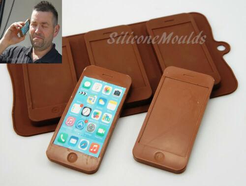 3 cellulare mobile SMARTPHONE Cioccolato//Barretta Di Cioccolato Stampo in Silicone da Forno iPhone 5