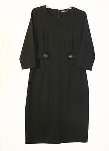 04f175d1f3f Image is loading Women-039-s-size-10-black-dress-stretch-