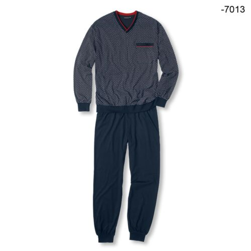Götz Castello Uomo Pyjama Set SONNO TUTA manica lunga Alan S M L XL XXL 3xl colore a scelta