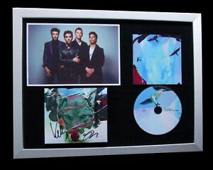 STEREOPHONICS-SIGNED-FRAMED-SCREAM-ABOVE-SOUNDS-100-AUTHENTIC-FAST-GLOBAL-SHIP