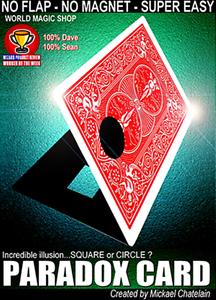 Paradox-Card-by-Mickael-Chatelain-Gimmcik-Card-Magic-Tricks-Illusions-Close-up