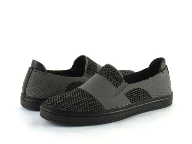 UGG Sammy Black Stretch Knit/ Leather